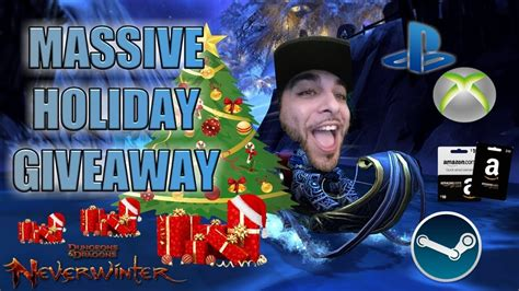 neverwinter massive christmas event giveaway