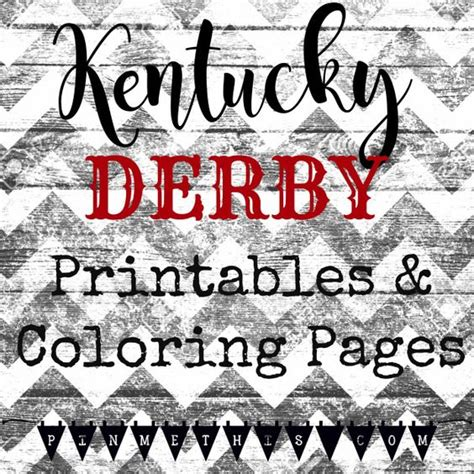 coloring pages for kentucky derby derby printables and coloring pages on