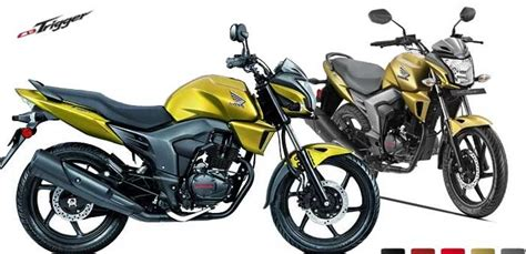 honda trigger specification honda cb trigger review prices mileage in india