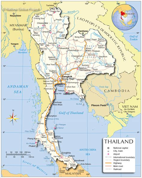Thailand Map World by Did You Know About Thailand Asia World Media