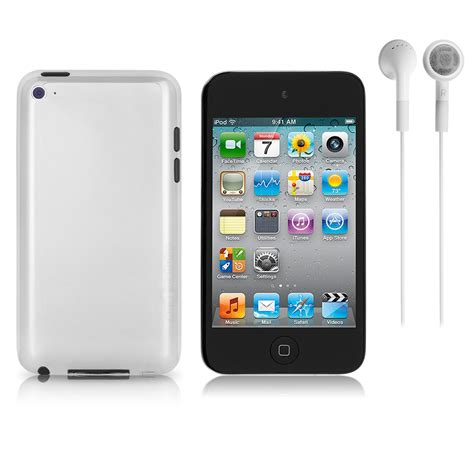 Apple 4 32gb apple ipod touch 4th generation a1367 32gb silver black bulk packaging a4c
