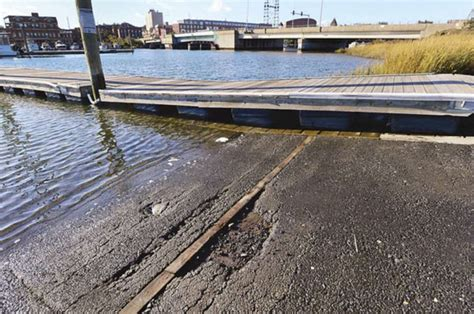 davies boat launch funds insufficient for boat r parking lot work at