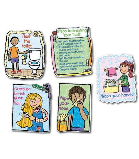 Hygiene Set hygiene kid bulletin board set grade k 3 carson dellosa publishing