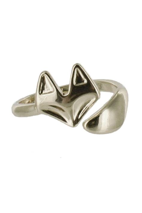 winky designs adjustable fox ring from nevada shoptiques