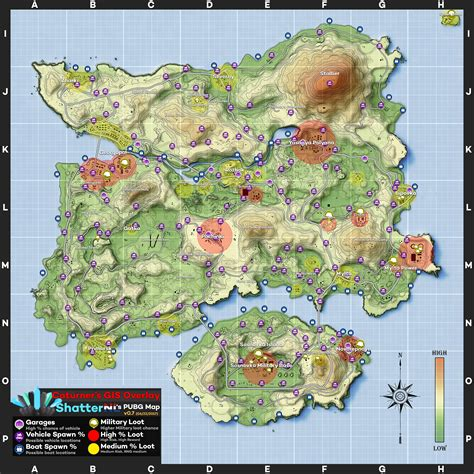 pubg loot map playerunknown s battlegrounds maps loot maps pictures