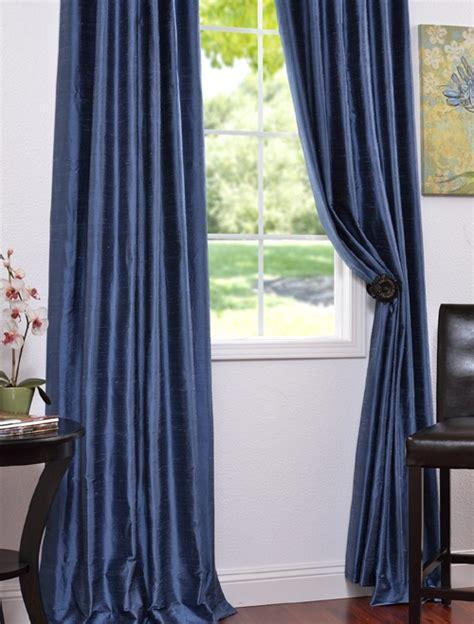 blue silk drapes winter blue textured dupioni silk curtains drapes