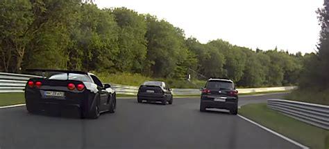 corvette crashes corvette z06 crashes on the nurburgring vettetv