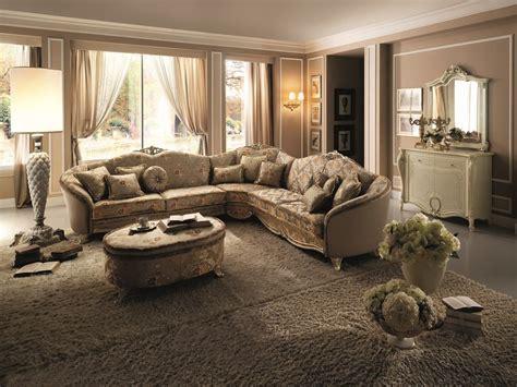 arredate stile classico divano angolare in stile classico tiziano divano