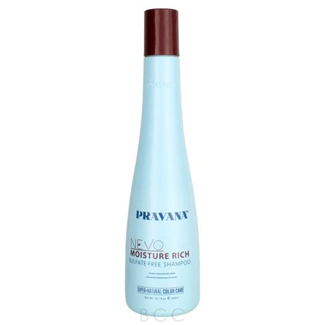 Nevo Detox Clarifying Shoo Ingredients by Pravana Nevo Moisture Rich Sulfate Free Shoo