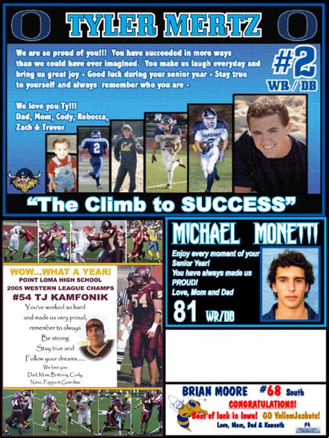 2010 football program parent ads