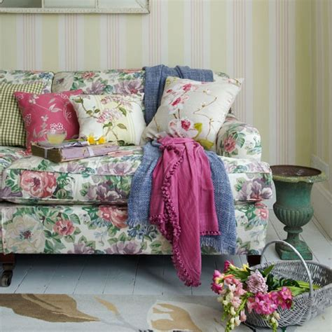 living room floral sofas and loveseats ideas with table multicoloured floral living room summer living room
