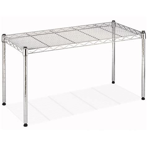 Shelf Stacking by Whitmor Supreme Wide Chrome Stacking Shelf Walmart