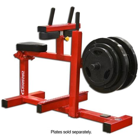 seated calf press squat machine with calf blaster legend fitness