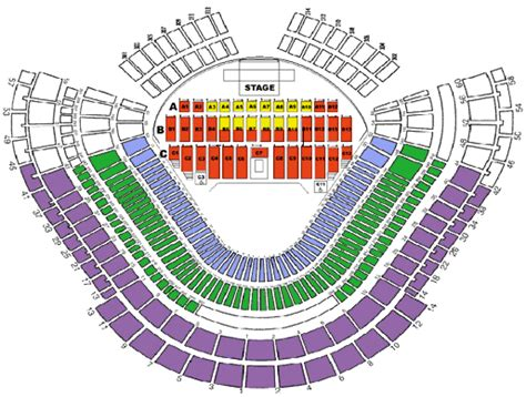 dodger stadium concert seating chart with seat numbers dodgers stadium seating chart baseball 1