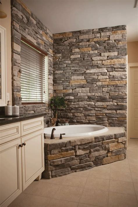 stone earth bathrooms heritage stone interior ledgestone for the master bath