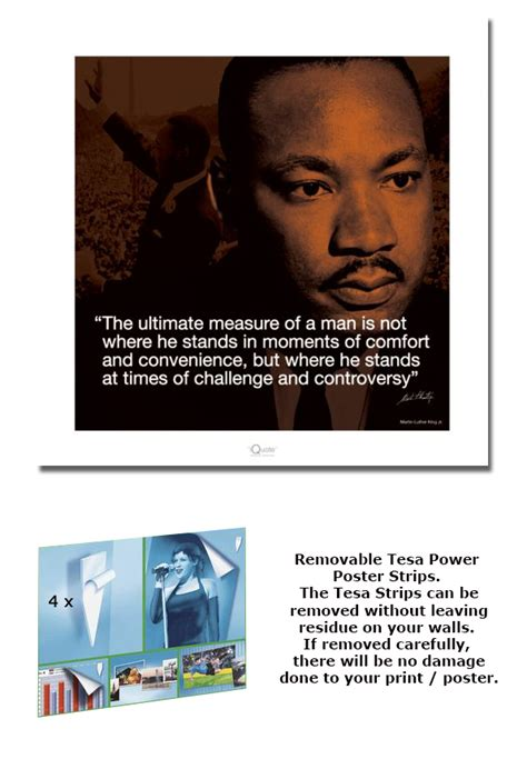 printable martin luther king poster martin luther king jr framed art print poster quote size