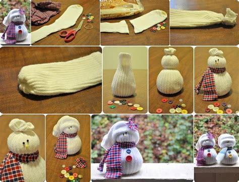 sock snowman directions diy sock snowmen crafts i ll never get around to doing