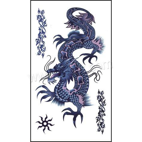 tattoo sticker paper tattoo sticker paper dragon waterproof 105x60mm gets com