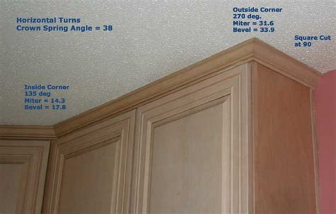 putting crown molding on kitchen cabinets how to cut and install crown molding on kitchen cabinets