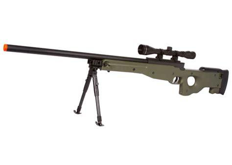 Kaos Airsoft Dual Sniper utg type 96 green sniper airsoft rifle w scope airsoft guns