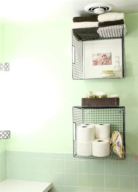 hanging baskets for bathroom the most ingenious bathroom organisation tips in one place
