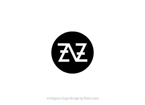 design free band logo zaz ambigram music band logo design ralev premium