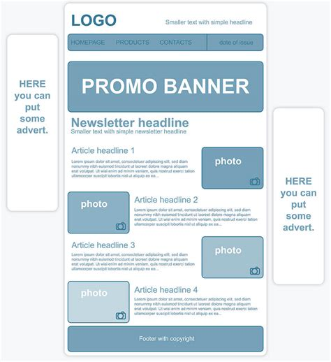 how to create an email newsletter template creating a personalized newsletter template 1 1