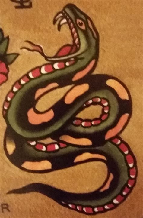 old school snake tattoo designs traditional school jeromey quot tilt quot mcculloch