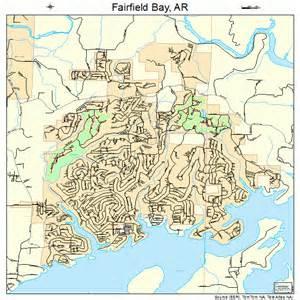 fairfield bay arkansas map 0522660
