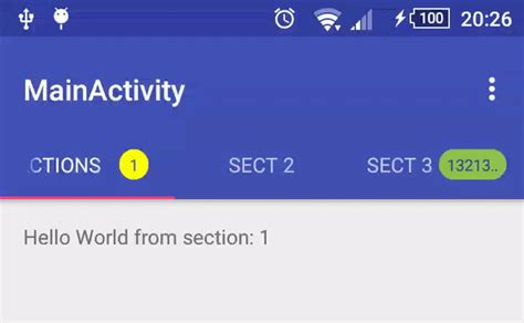 using tab layout in android add android badges tab layout 187 tell me how a place for