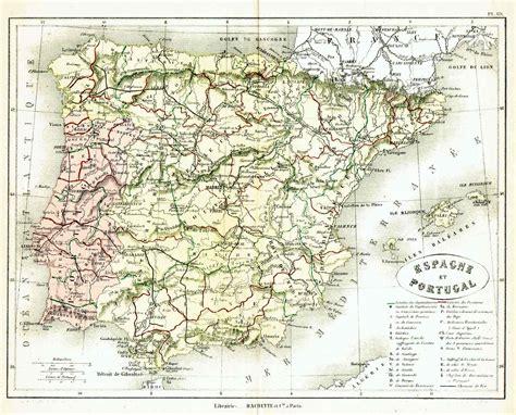 porto della spagna spagna e portogallo archivi idea maps