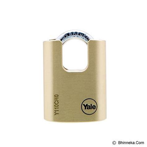 Produ Gembok Alarm Kinbar T3009 Jual Yale Brass Padlock Closed Shackle Y110c 30 115 1