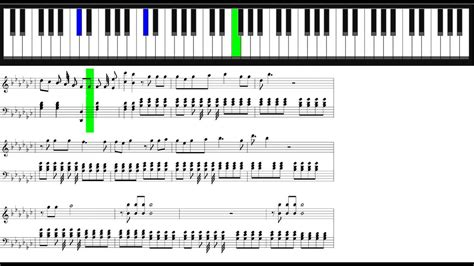 tutorial piano faded alan walker faded piano sheet 36 youtube