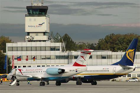 salzburg flughafen salzburg airport vervoer vliegveld naar centrum taxi