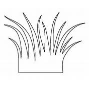 Pin Grass Outline Template On Pinterest