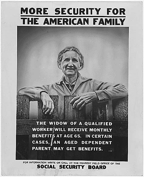 what year was the new deal put into effect social security history