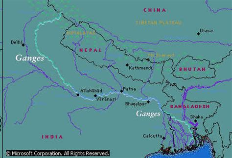 ganges river map a journey to the source of the ganga documentary