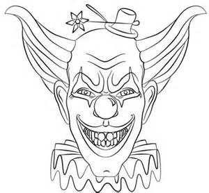 coloriage face de clown m 233 chant coloriages 224 imprimer