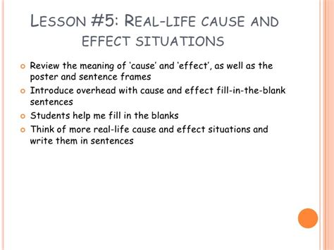 biography meaning and sentence cause and effect relationships