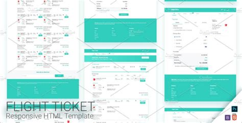 flight booking template 102 responsive html templates themes free templates