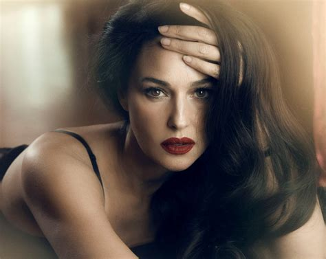 dark haired women monica bellucci 49 italian actress and model and a one