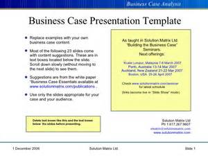 writing business cases template business presentation template ppt business