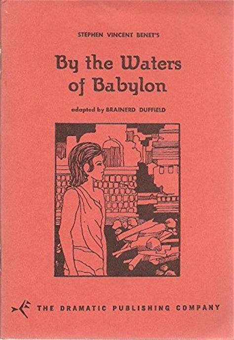 by the waters of babylon characters gradesaver mini store gradesaver