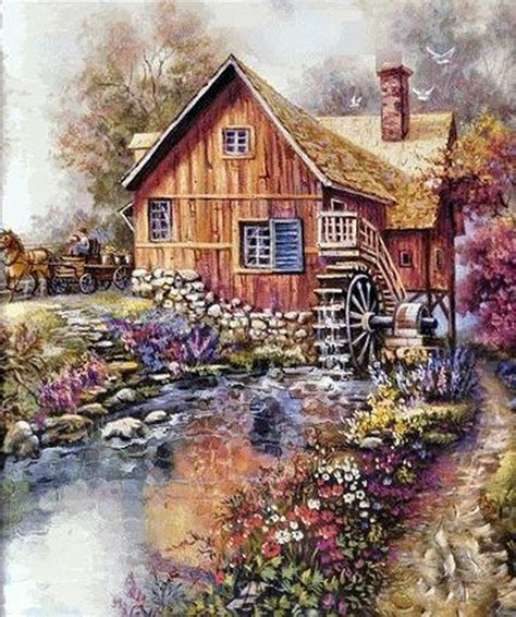 1193 best images about thomas kinkade on pinterest