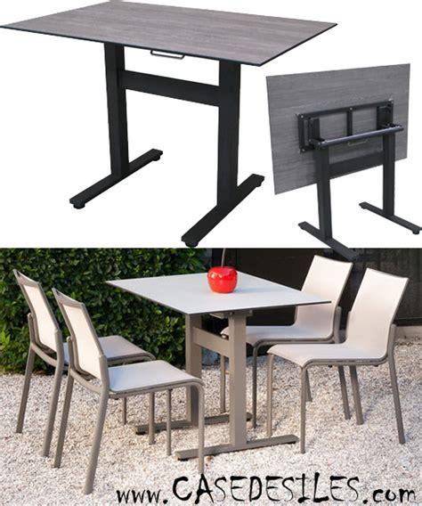 Superior Table Haute De Jardin Tresse #6: Petite-table-jardin-alu-basculante-511070-986.jpg