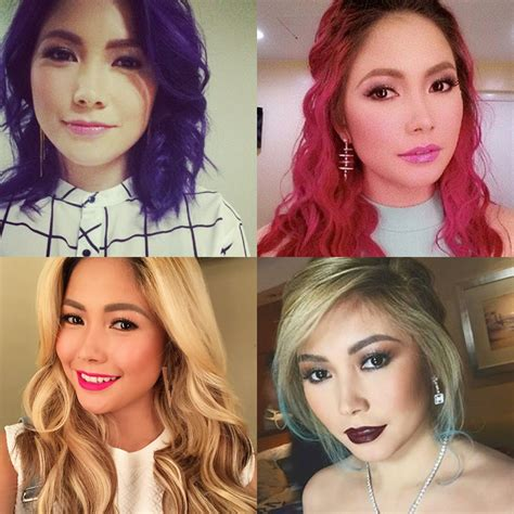 yeng constantino hairstyle yeng constantino hair color ash gray of hair color of yeng