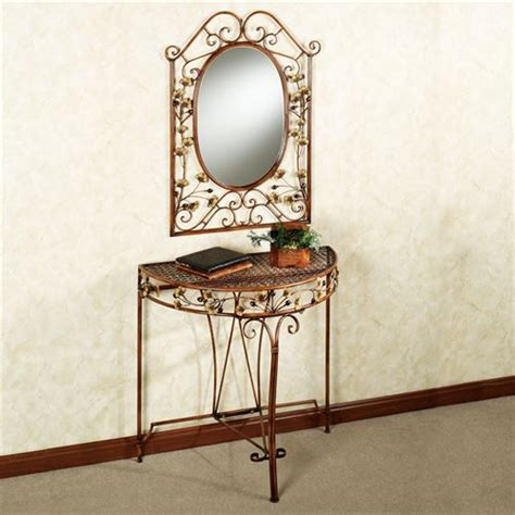 sofa table with mirror ginkgo console table and mirror