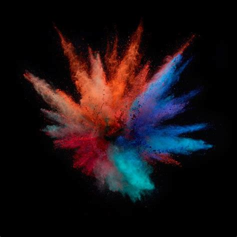 explosion of colors 107 best explosions of color images on