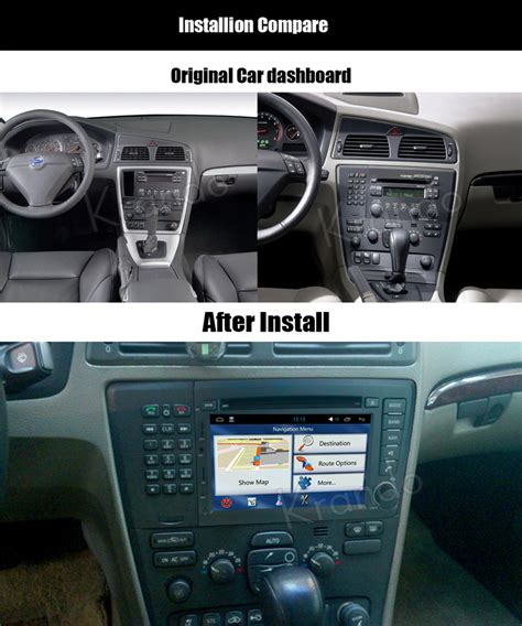how does cars work 2003 volvo s60 navigation system krando android 7 1 autoradio dvd multimedia voor volvo s60 v70 2001 2002 2003 2004 gps