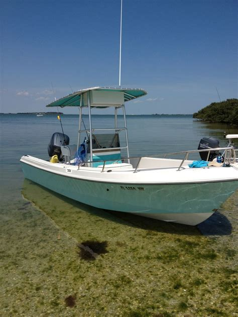 skiff boat paint mako 19 blue paint color image google search boat